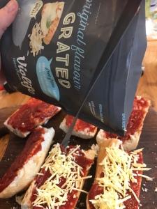Violife vegan grated cheese
