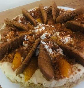 Biscoff Mandarin Cheesecake
