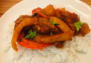 Sweet & sour Vegan Chicken Recipe