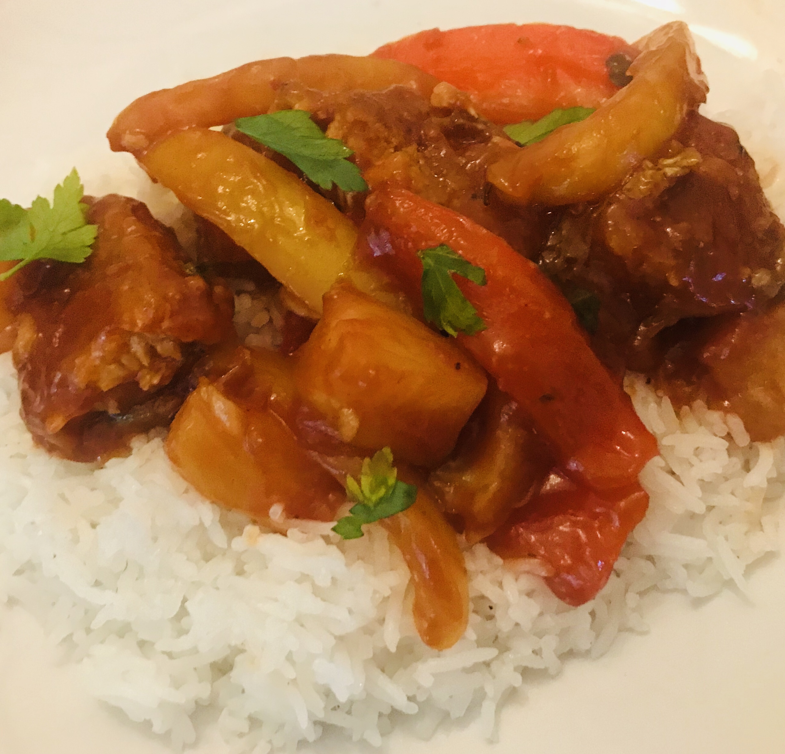 Sweet & Sour Vegan Chicken